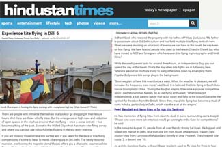 Hindustan Times kite flying 02-07-2016 screenshort